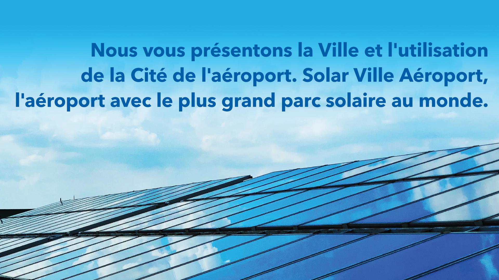 Présentation du projet solaire