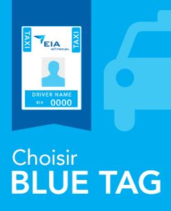 AIE Taxi - image du programme Blue Tag