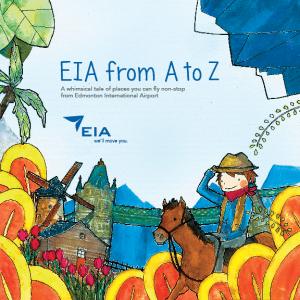 Couverture du livre pour enfants, AIE from A to Z