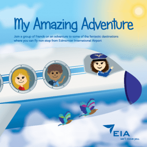 Image de la couverture du livre de contes My Amazing Adventure de l'AIE